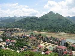 Một góc huyện Bắc Hà – tỉnh Lào Cai