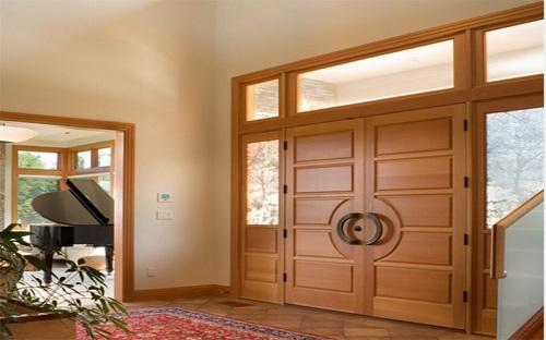 bí quyết mua cửa gỗ tự nhiên đẹp bền 2
