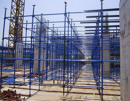 Dàn giáo trong công trình xây dựng
