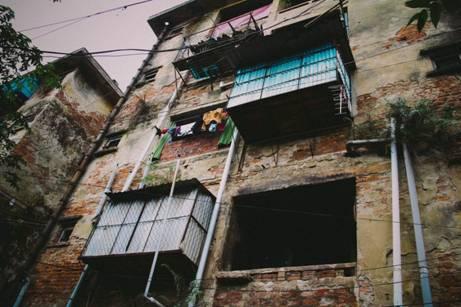 dỡ chung cư cũ thái nguyên 1