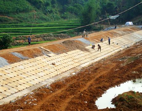Dự án hạ tầng huyện Đak Đoa