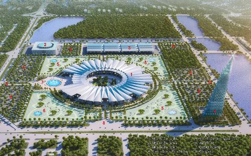 Đức xây trung tâm hội nghị