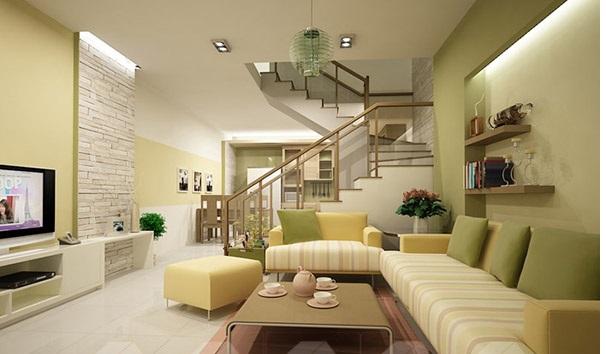 ghế sofa màu sơn tường 2