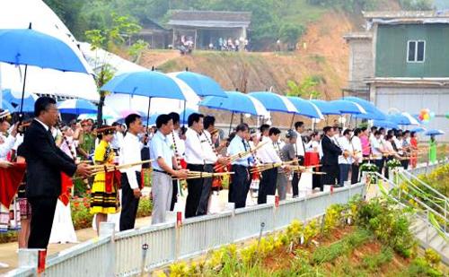 Khánh thành nhà máy thủy điện ICT Vĩnh Hà