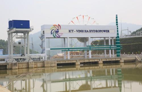 Khánh thành nhà máy thủy điẹn ICT Vĩnh Hà