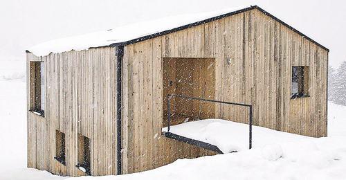 ngôi nhà hiện đại cabin ở áo