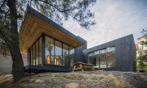 nhà cabin thân thiện
