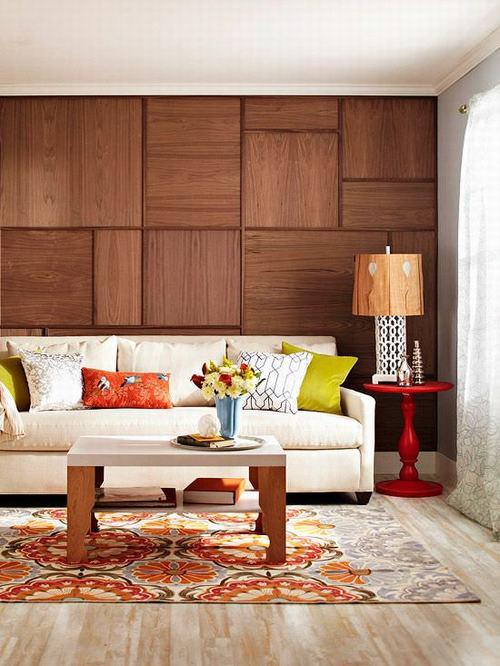 tường ốp gỗ 3