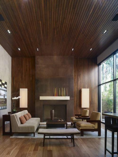tường ốp gỗ 4