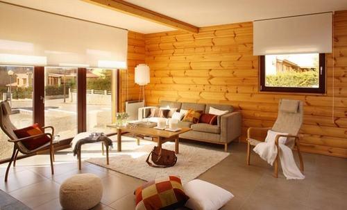 tường ốp gỗ 5