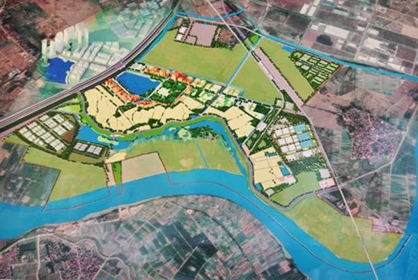 Quy hoạch chung khu vực thị trấn Phù Đổng