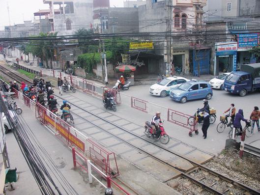 tăng cường an toàn đường sắt 1