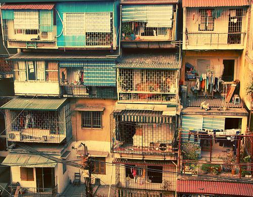 xây dựng chung cư cũ
