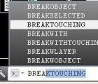 Thêm nhiều lựa chọn break đối tượng trong autocad với lisp My Break Object