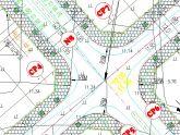 Tạo vòng tròn Wipeout cho cọc trong thiết kế đường giao thông