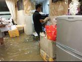 Cách khắc phục tường ngấm, sàn co ngót sau mưa ngập