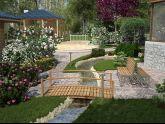 Cách thiết kế cầu nhỏ để tạo nét duyên dáng cho sân vườn