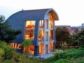 Cấu trúc bền vững pha trộn thiết kế hiện đại tại Hà Lan