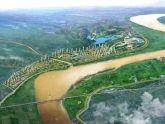 Đã xác định vị trí cầu đường sắt vượt sông Hồng