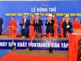 Động thổ dự án nhà máy sản xuất container tại Nghệ An