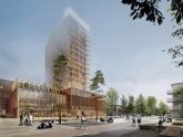 Dự án xây dựng tòa nhà bằng gỗ cao nhất tại Thụy Điển