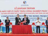 Hà Nội: Khánh thành nhà máy điện rác đầu tiên của Việt Nam