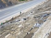Khắc phục tạm thời mái taluy hỏng trên Quốc lộ 3 (mới) đoạn Thái Nguyên-Chợ Mới