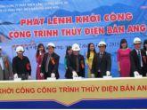 Khởi công xây dựng Nhà máy Thủy điện cột nước thấp thứ hai ở Bắc Trung bộ