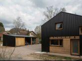Ngôi nhà từ tất cả các vật liệu gỗ ai cũng muốn sở hữu