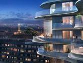 Tòa nhà dân cư với cấu trúc uốn lượn tại Paris