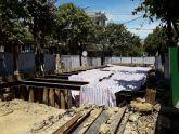 TT - Huế: Thi công dự án môi trường nước gây nứt nhà dân