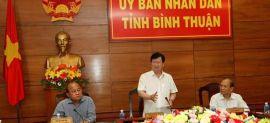 Bộ trưởng Trịnh Đình Dũng: Bình Thuận nên phát triển các khu nhà ở thương mại ven biển