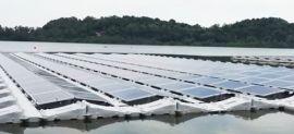 Singapore thử nghiệm hệ thống năng lượng mặt trời nổi lớn nhất thế giới