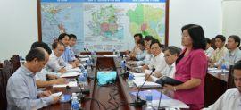 Thứ trưởng Nguyễn Trần Nam làm việc tại Tây Ninh