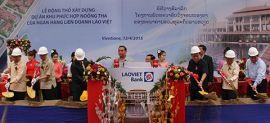 Việt Nam-Lào: Khởi công xây dựng dự án Khu phức hợp Noong Tha