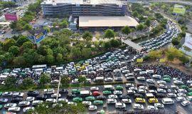 Đề xuất xây cáp treo vào Tân Sơn Nhất để giảm kẹt xe