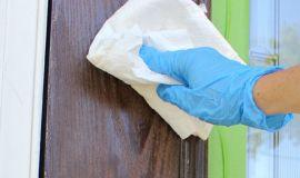Lưu ý khi tự sơn cửa nhà
