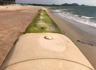 Ống địa kỹ thuật Geotube: Giải pháp tối ưu cho các công trình thủy